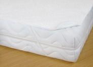 Matracový chránič s PVC - 90x200 (bílá)