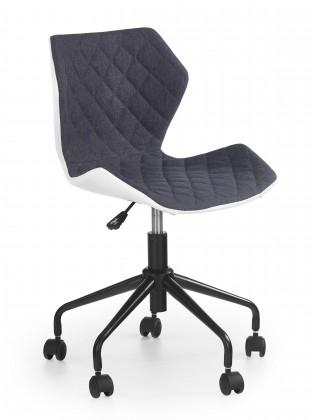 MATRIX - dětská židle, šedá, regulace výšky sedáku