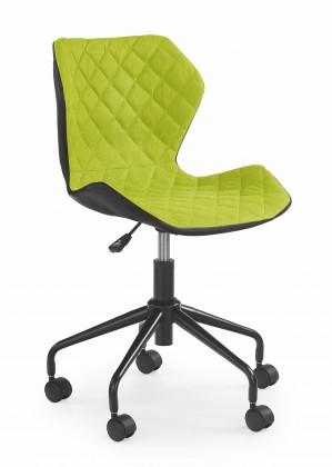 MATRIX - dětská židle, zelená, regulace výšky sedáku