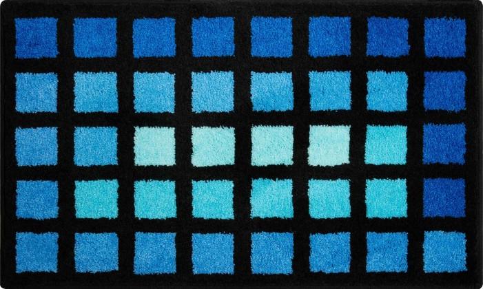 Matrix - Koupelnová předložka 60x100 cm (modrá)