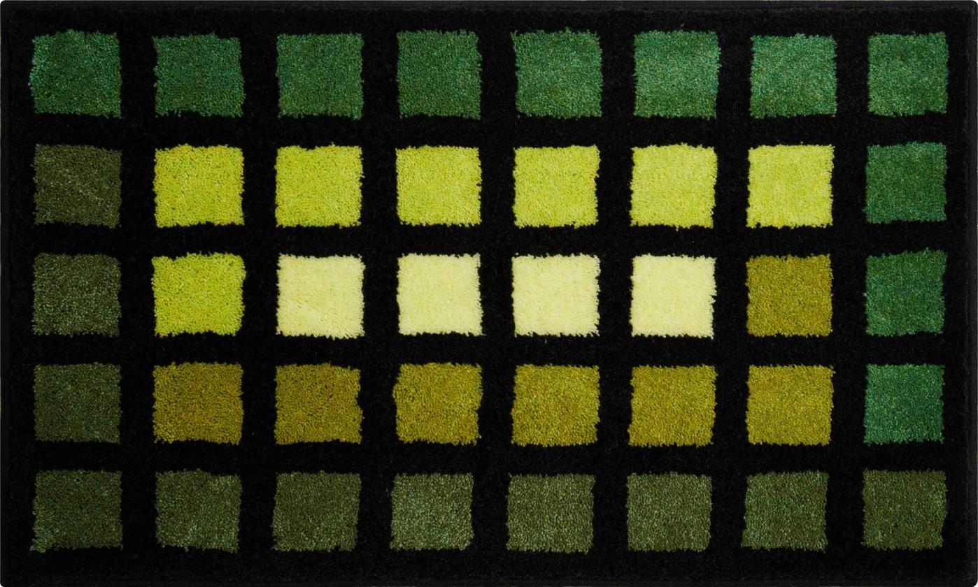 Matrix - Koupelnová předložka 60x100 cm (zelená)
