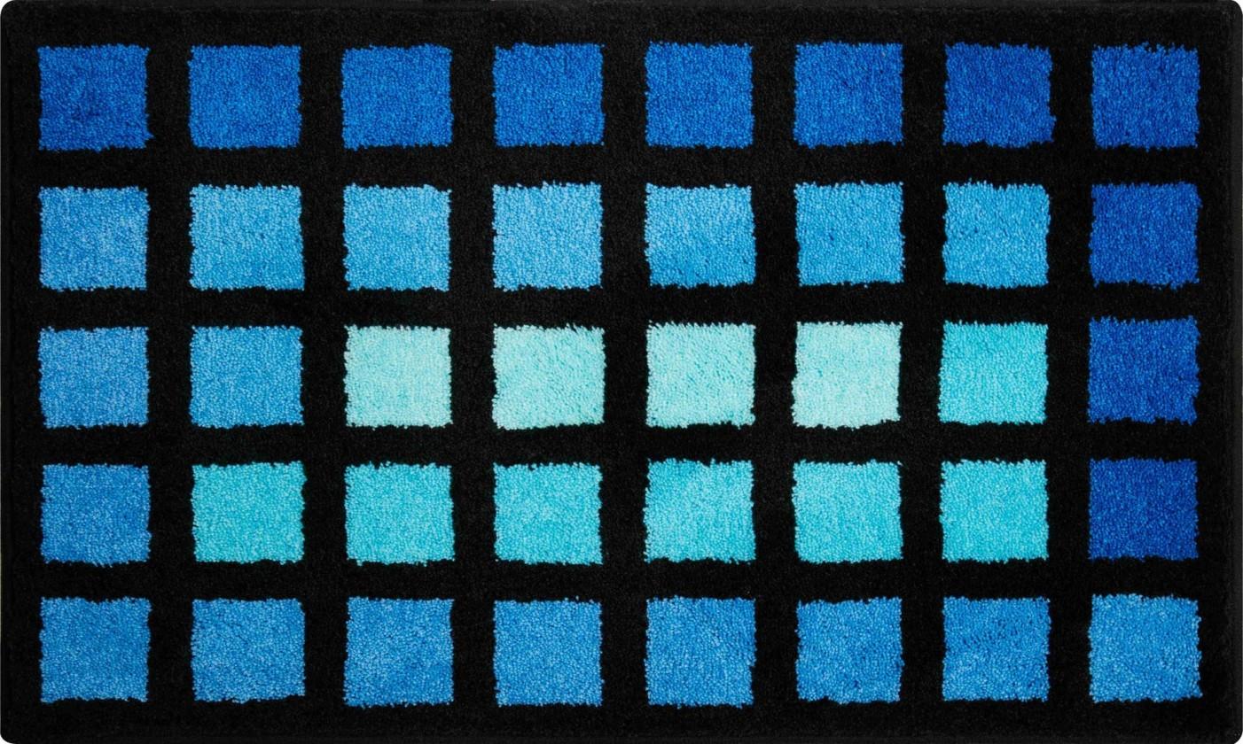 Matrix - Koupelnová předložka 70x120 cm (modrá)