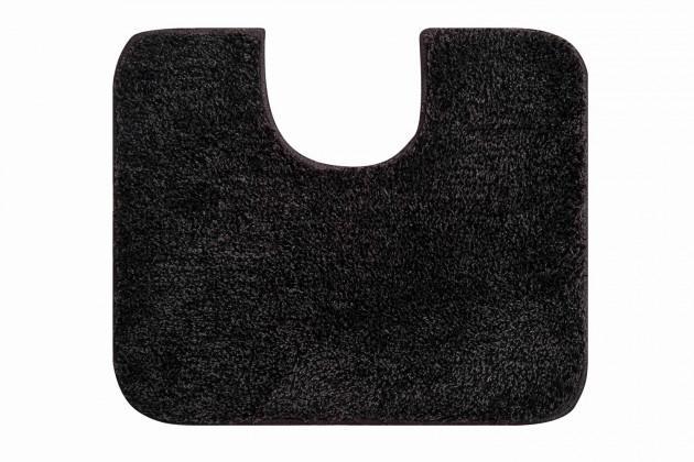 Melo - WC předložka 60x50 cm (šedá-černá)