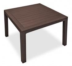 Melody - Stůl, 95 cm (hnědá)