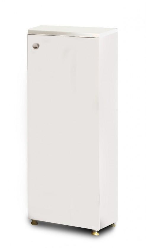 Messina - Skříňka D30 otevírání vpravo (bílá,boky bílé)
