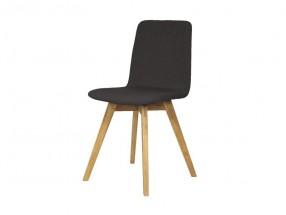 Mia - Jídelní židle (dub, látka antracitová)