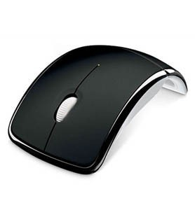 Microsoft ARC Mouse USB Port Black