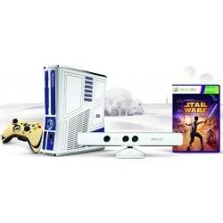 Microsoft XBOX 360 320GB Kinect Bundle + Star Wars HW