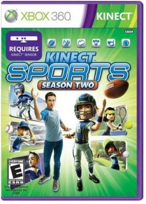 Microsoft XBox 360 Kinect sports season 2