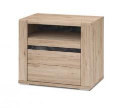 Minneota - Noční stolek 60,1/52,4/40,2 (dub san remo sand)
