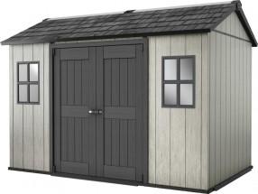 Minotaur - zahradní domek (350x229 cm, šedá/antracit)