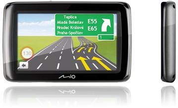"Mio Spirit 485c GPS navigace, LCD 4,3"", TMC, mapy CEU (7)"