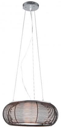 Mira - Stropní osvětlení, 7180 (chromová/hnědá)