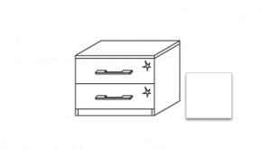 Modena A - Noční stolek, 2x zásuvka