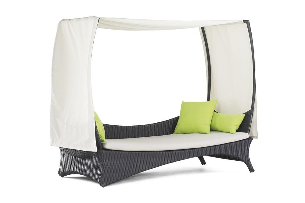 Monterey - Denní postel (šedá, bílá)