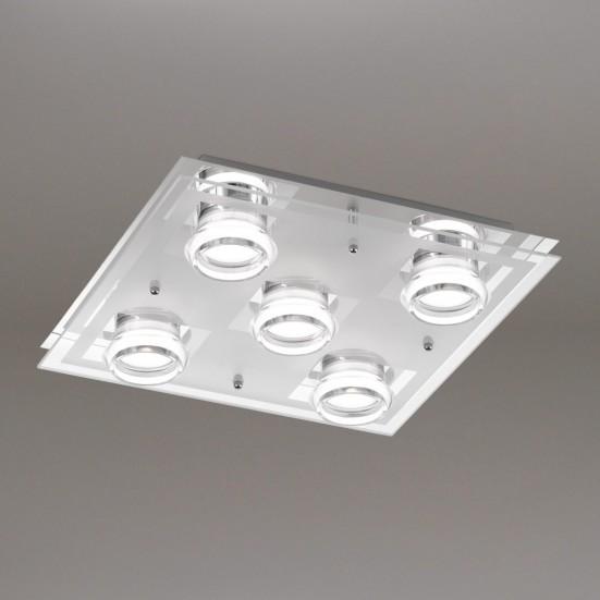 Moody - Stropní osvětlení, LED (chrom)
