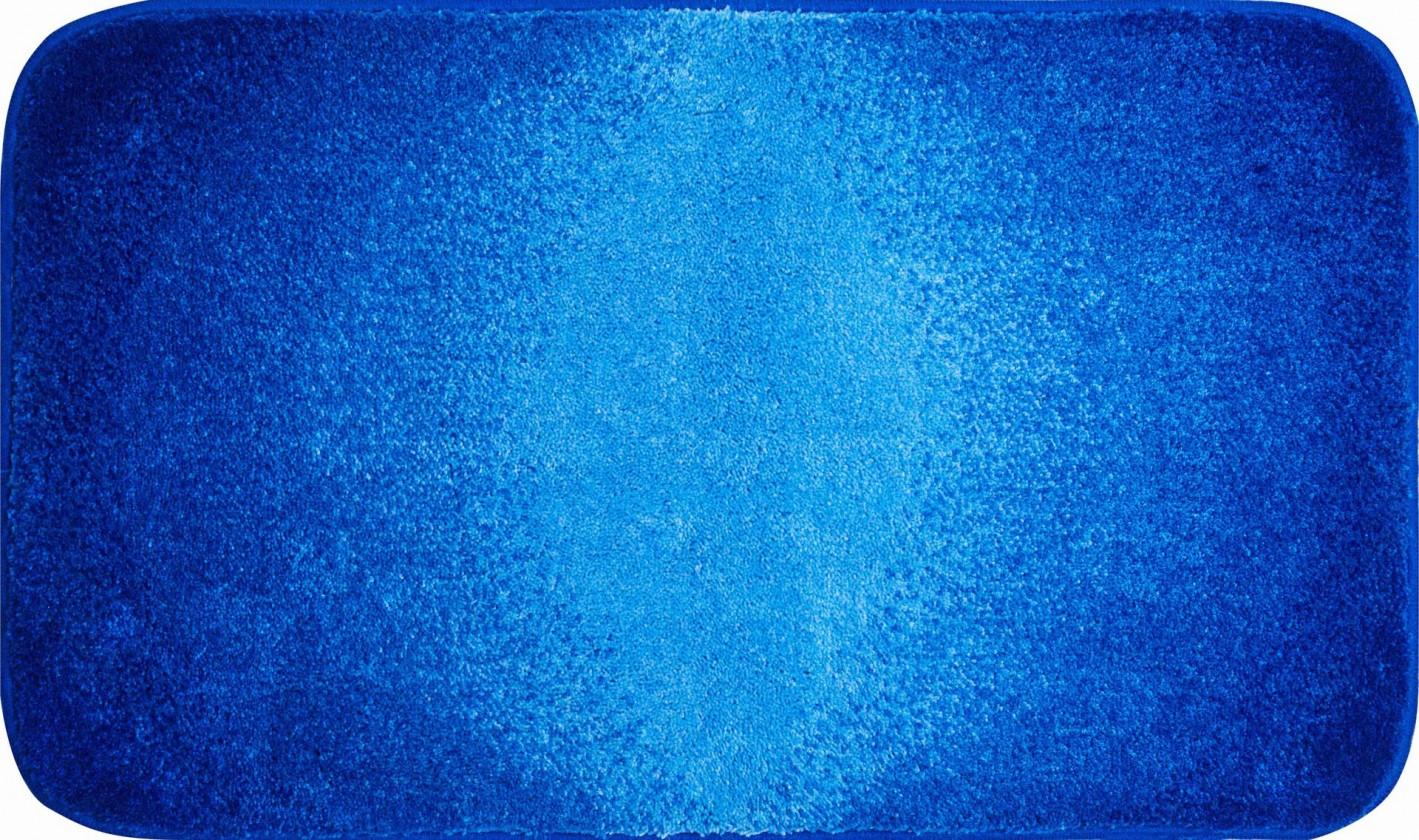 Moon - Koupelnová předložka 60x100 cm (modrá)