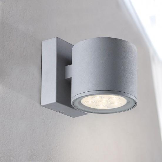 Morris - Nástěnné svítidlo, LED (šedá)