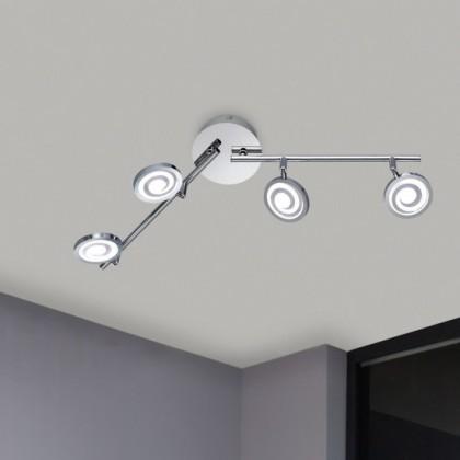 Morris - Stropní osvětlení, LED (chrom)