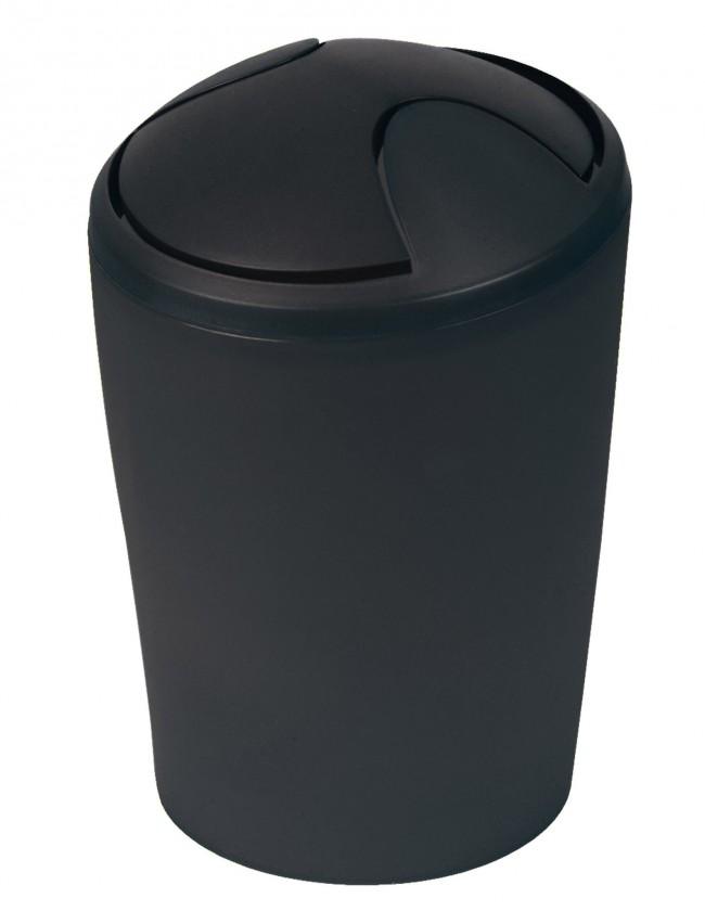 Move-Odpadkový koš  black 5 L(černá)