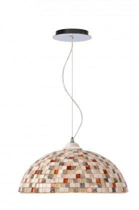 Mozaik - stropní osvětlení, 60W, E27 (taupe)
