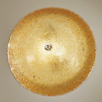 Murano - E27, 60W, 42x42x14 (zlatá)