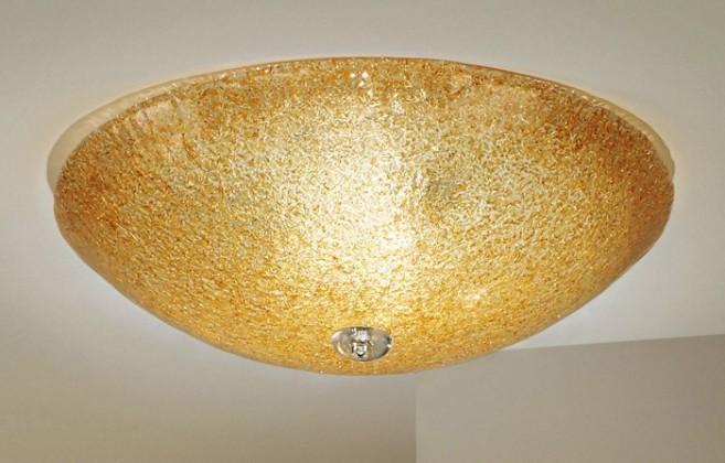 Murano - E27, 60W, 52x52x18 (zlatá)
