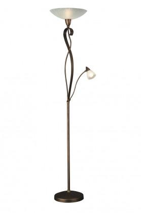 NÁBYTEK Aline - Lampa E 14, 35cm (hnědá)