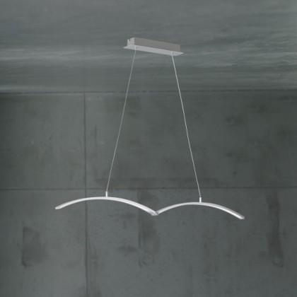 NÁBYTEK Banks - Stropní osvětlení, LED (nikl elox)