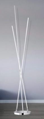 NÁBYTEK Camp - Lampa, LED (chrom)