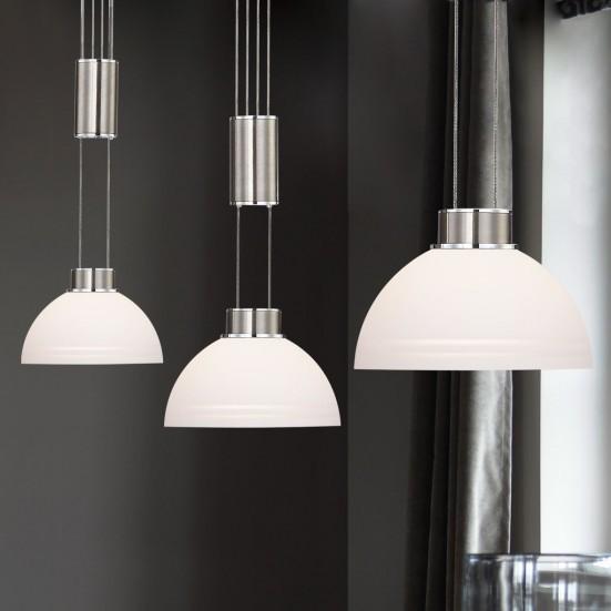 NÁBYTEK Class - Stropní osvětlení, LED (matný nikl)