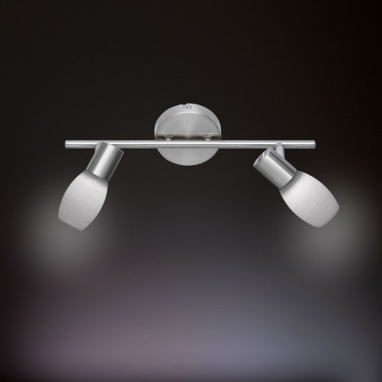 NÁBYTEK Colo - Stropní osvětlení, LED (matný nikl)