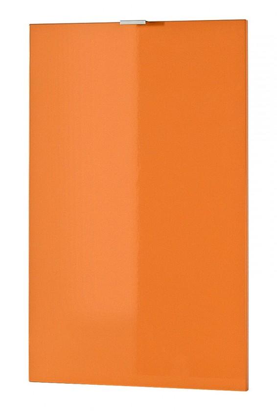 NÁBYTEK Colorado - Dveře, polička (oranžová)