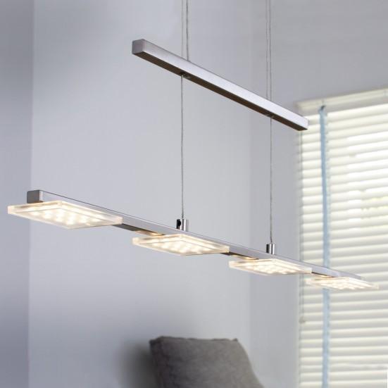 NÁBYTEK Darwin - Stropní osvětlení, LED (matný nikl)