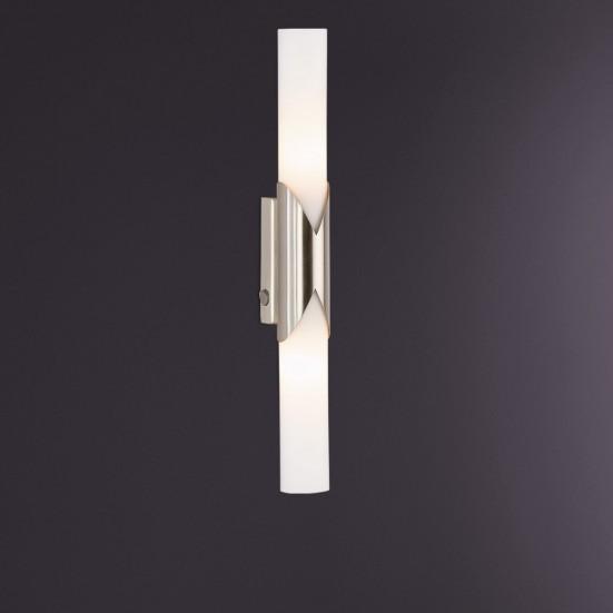 NÁBYTEK Eddy - Nástěnné osvětlení, E14 (matný nikl)