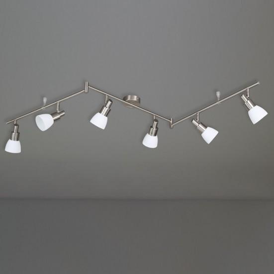 NÁBYTEK Eve - Stropní osvětlení, LED (matný nikl)