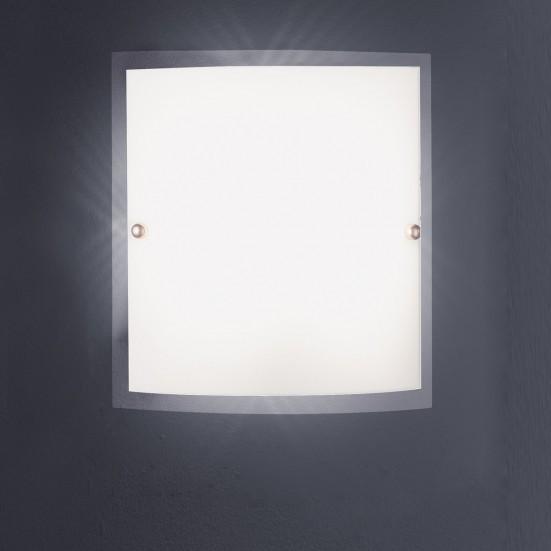 NÁBYTEK Figo - Stropní osvětlení, E14 (matný nikl)