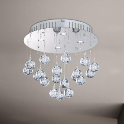NÁBYTEK Glam - Stropní osvětlení, LED (chrom)