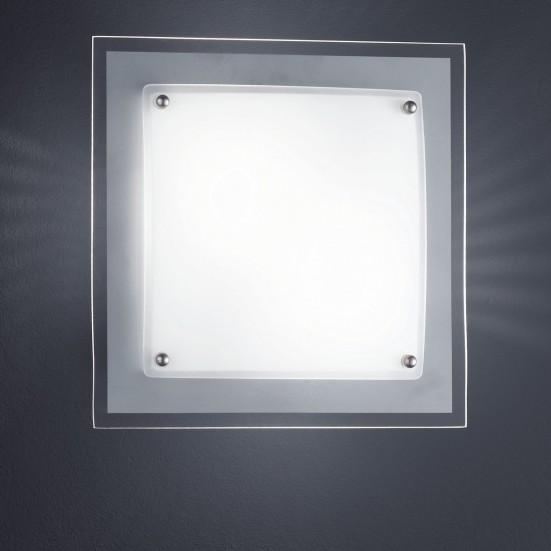 NÁBYTEK Kanpur - Stropní osvětlení, E14 (matný nikl)