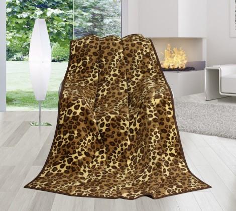 NÁBYTEK Karmela Plus - Deka 150x200 1367/319 (leopardí kůže)