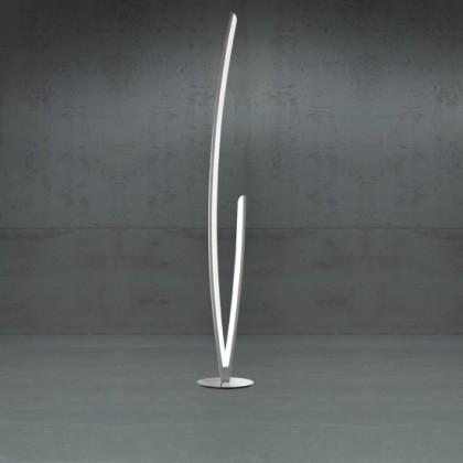 NÁBYTEK Kelton - Lampa, LED (matný nikl, chrom)