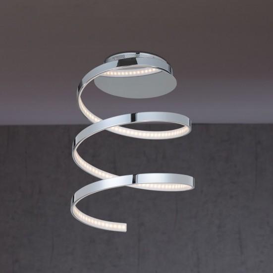NÁBYTEK Laval - Stropní osvětlení, LED (chrom)