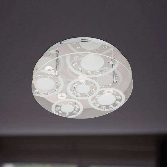 NÁBYTEK Lore - Stropní osvětlení, LED (chrom)
