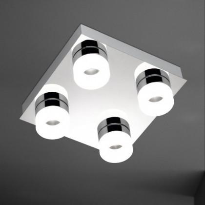 NÁBYTEK Luce - Stropní osvětlení, LED (chrom)