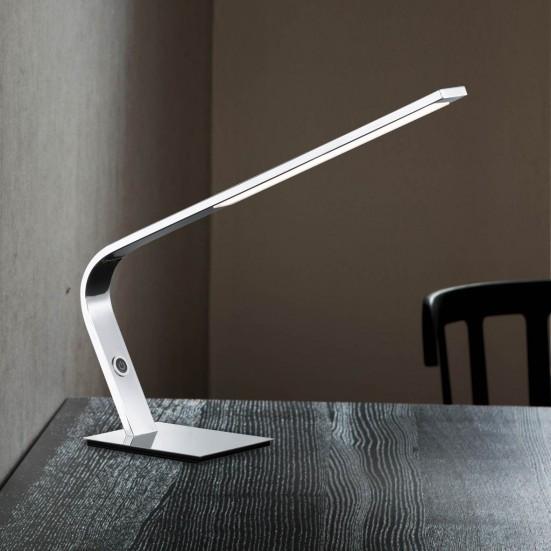 NÁBYTEK Mercur - Lampa, LED (chrom)