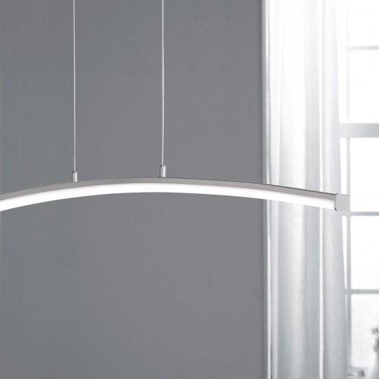 NÁBYTEK Napa - Stropní osvětlení, LED (nikl)