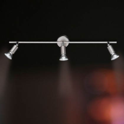 NÁBYTEK Nini - Stropní osvětlení, GU10 (matný nikl)