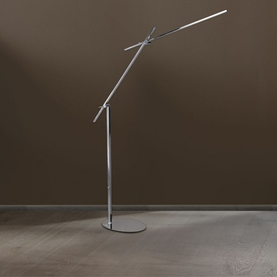 NÁBYTEK Orbit - Lampa, LED (chrom)
