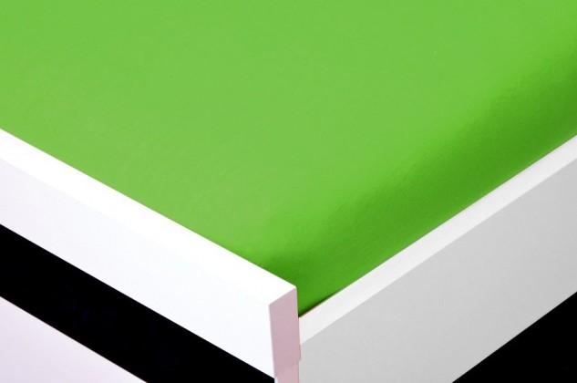 NÁBYTEK Prostěradlo Jersey, 180x200 (zelené)