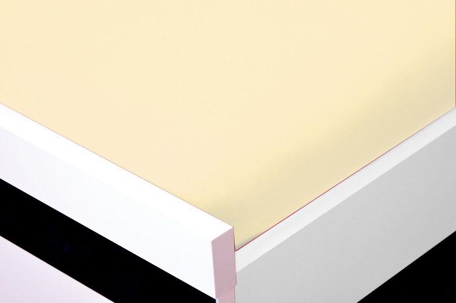 NÁBYTEK Prostěradlo Jersey, 90x200 (krémové)